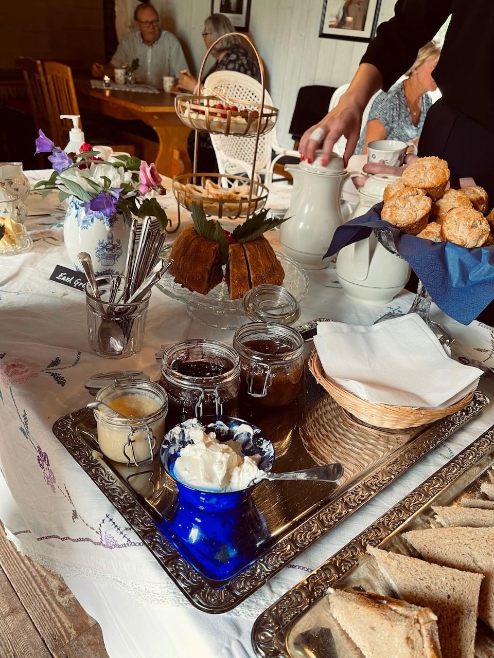 afternoon tea hildasholm